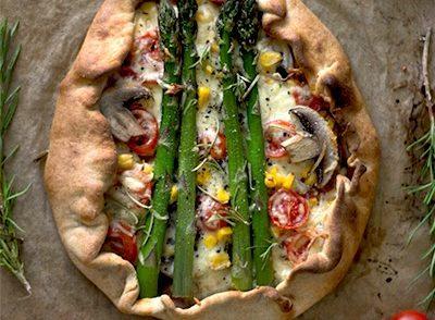 Rezept für 10-Minuten-Pizza