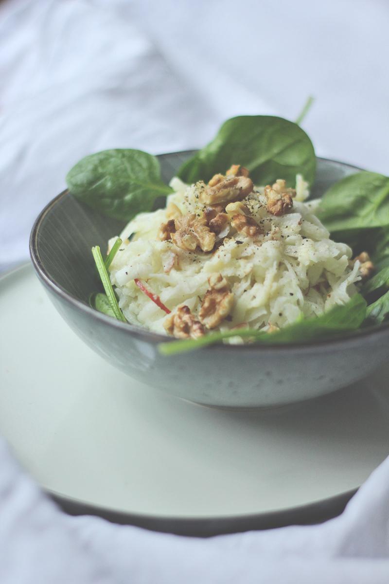 Kohlrabi-Waldorf-Salat