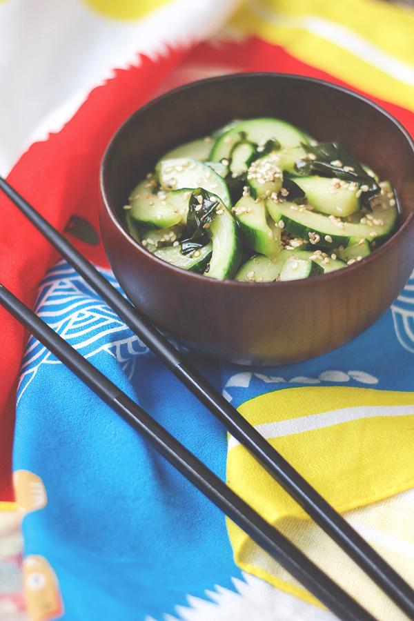 Japanischer Gurkensalat