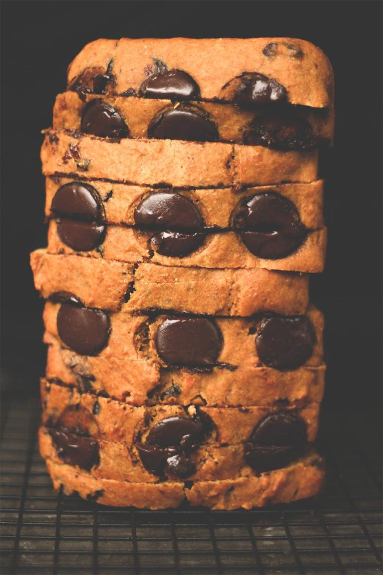Süßes Kürbis-Schokoladenbrot (ohne Butter)