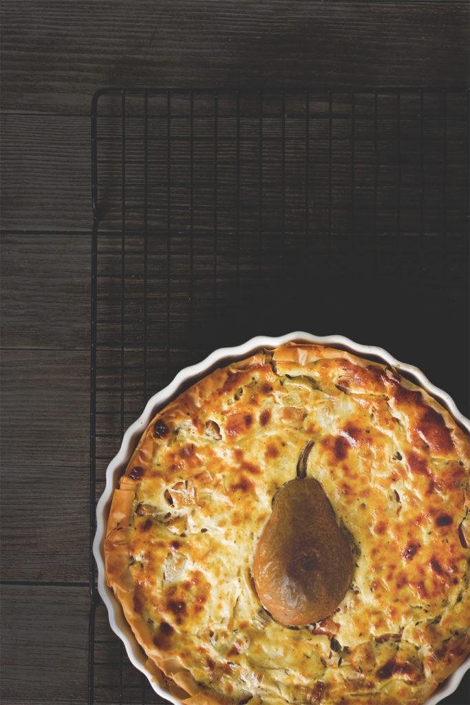 Quiche mit Kürbis, Lauch und Birne Kürbisquiche | Rezepte mit Hokkaido-Kürbis
