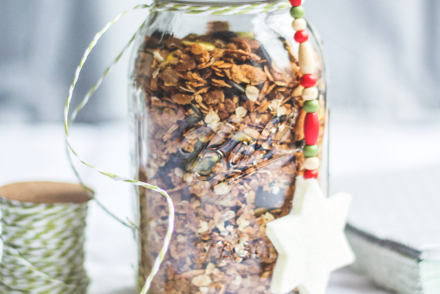 Healthy New Year Granola