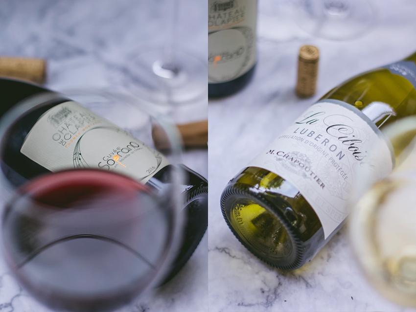 Wenig weiß, viel rot: Die Weine aus dem Luberon.