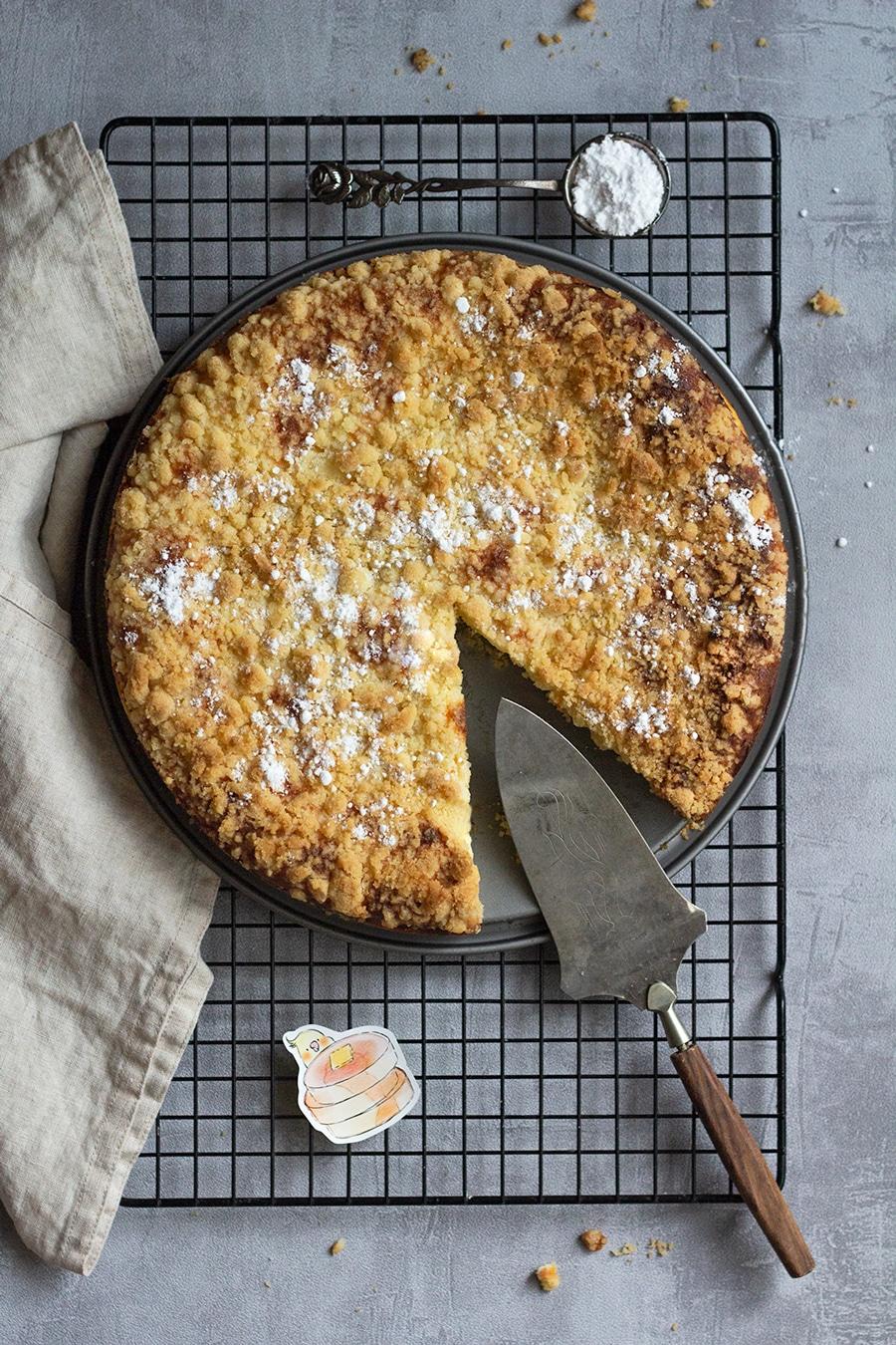 Apfel-Käse-Streusel-Kuchen