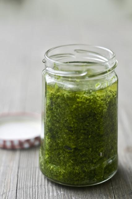 Bärlauch-Sesam-Pesto