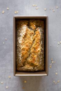 Schnelles Brot aus Dinkelmehl