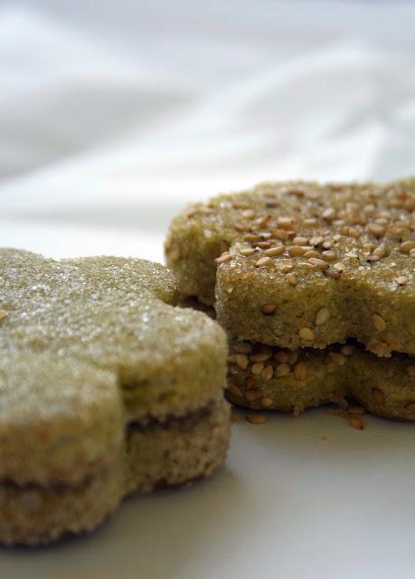 Einfache Matcha-Kekse