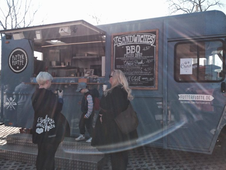 Futterflotte auf dem Street Food Festival Düsseldorf