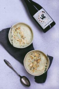Geröstete Blumenkohl-Suppe