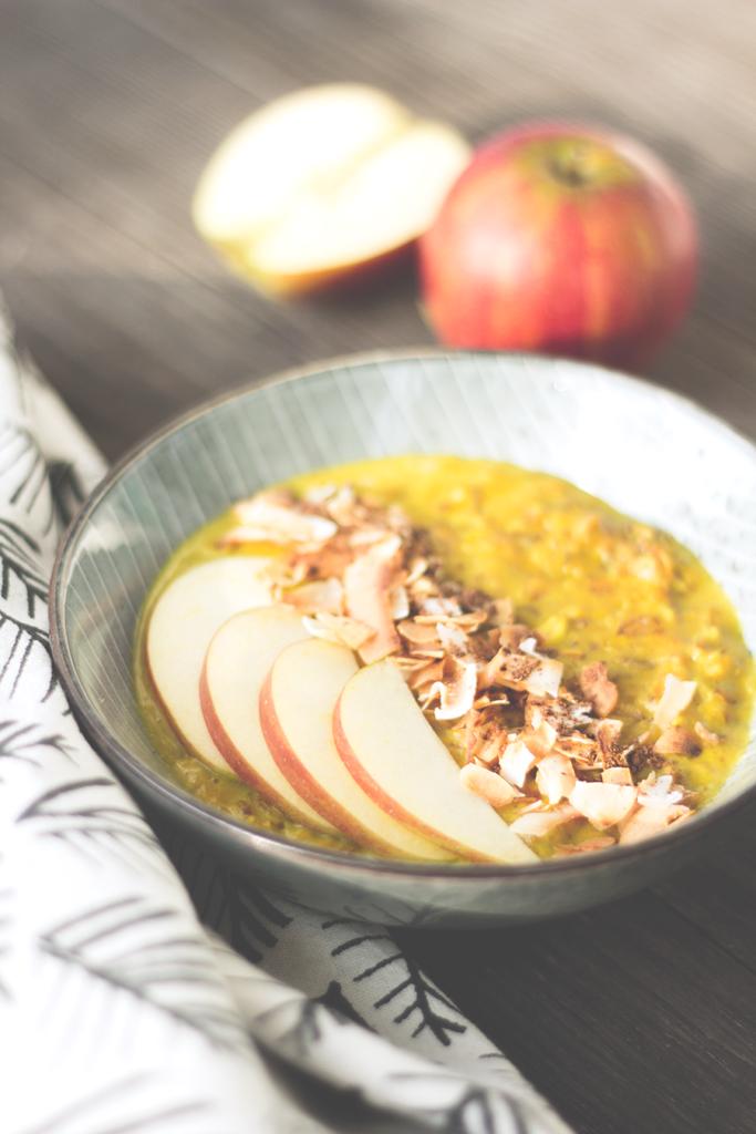 Goldene-Milch-Porridge