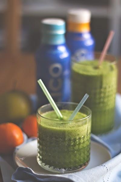 Grünkohl-Kokoswasser-Smoothie