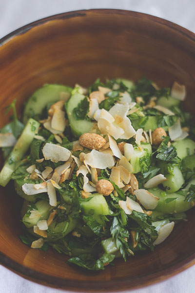 Gurken-Sate-Salat