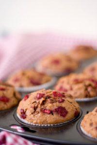 Himbeer-Nougat-Muffins