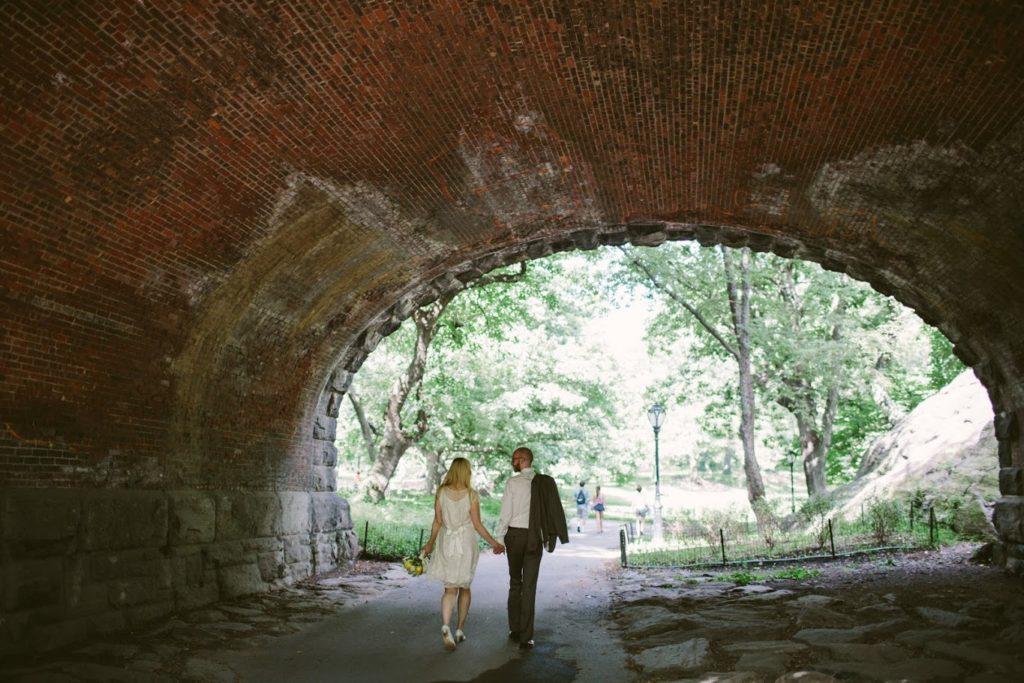 Hochzeit in New York City – Park