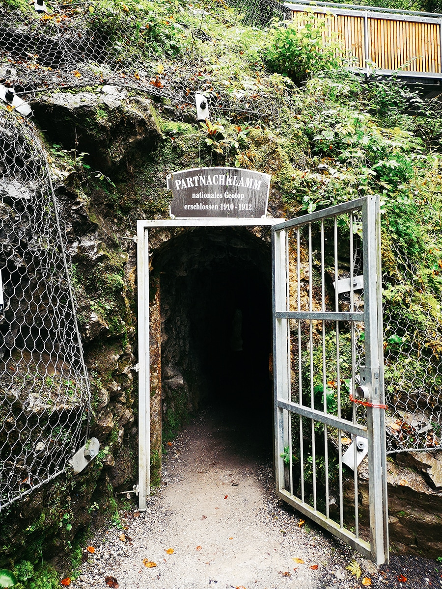 Eingang zur Partnachklamm