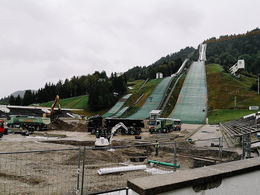 Die Skisprungschanzen von Garmisch-Partenkirchen