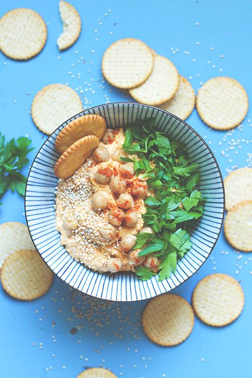 Kürbis-Hummus | Rezepte mit Hokkaido Kürbis