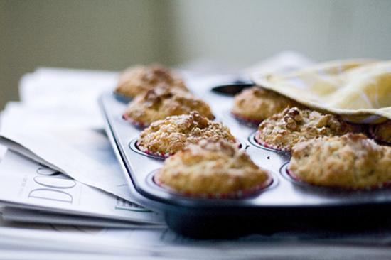 Kernige Muffins mit Agavendicksaft