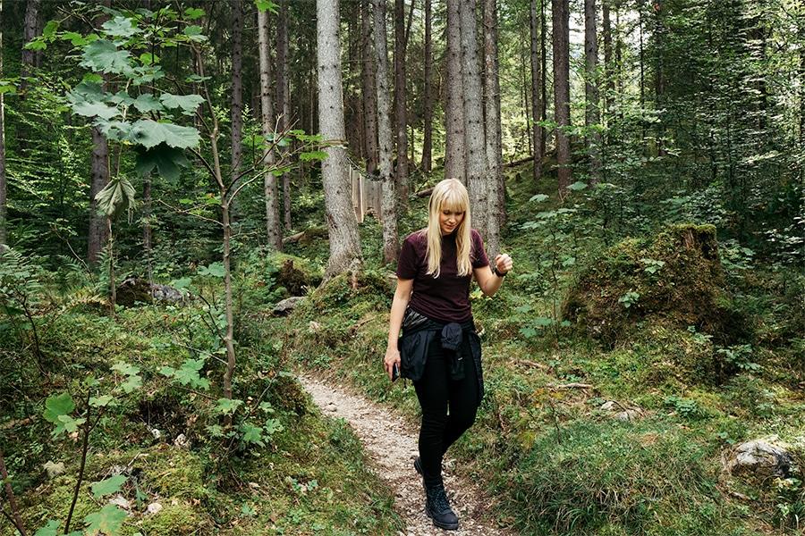 Grainau: Auf dem zauberhaften Bergwald-Wanderweg