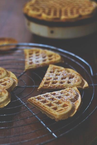 Lebkuchen-Gewürzwaffeln