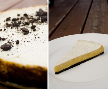 Pumpkin Oreo Cheesecake - Kürbis-Käsekuchen