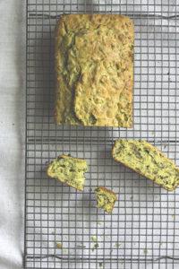Rucola-Basilikum-Kuchen