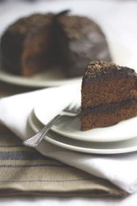 Schokoladen-Baskenmütze