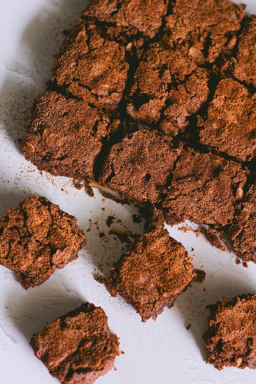 Vegane Schoko-Zucchini-Brownies