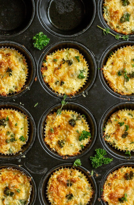Blumenkohl-Käse-Muffins | feines gemüse