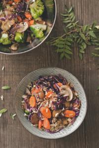 Veganes Nasi-Goreng