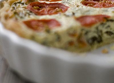 Bärlauch-Tomaten-Tarte