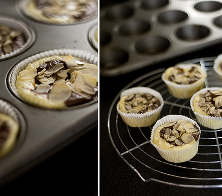 Käsekuchen-Schokoladen-Muffins