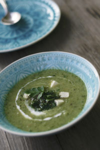 Low Carb Zucchini-Suppe